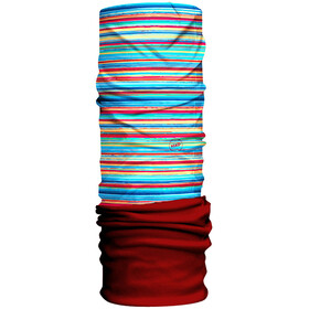 HAD Fleece - Foulard Enfant - rouge/Multicolore